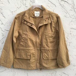 Madewell Women's Beige/Tan Jacket Size Large